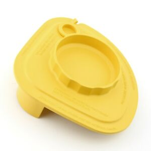 Rubber Splash Lid With Tethered Plug yellow For Vitamix Commercial Advance