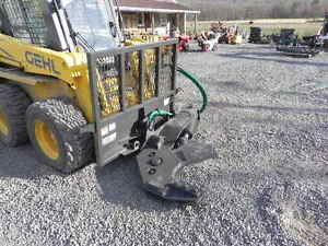 New Cid Xtreme 12 Rotating Tree Shear For Bobcat Skid Steer Loader Attachment