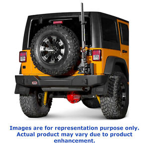 Arb For 2007 15 Jeep Wrangler Jk Integrated Tow Points Rear Bumper 5650200