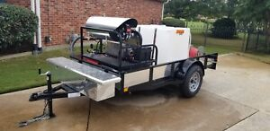 6gpm V Twin Hot cold Pressure Wash Trailer custom Built brand New