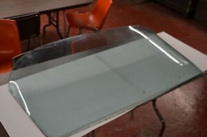 61 Chevy Impala Hardtop Bubble Top Rear Glass Oem Original Factory Tinted