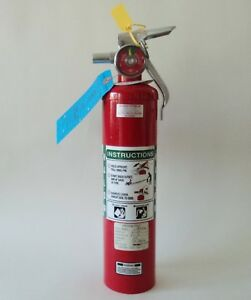 Halon 1211 Fire Extinguisher 2 5 Lb Clean Agent Fully Charged Inspected In 2016