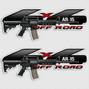 4x4 Truck Ar 15 Gun Decal Sticker For Ford Lwrc Sig Bushmaster Priority Mail
