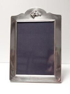 Carrs British Sterling Silver Photo Frame With Horse Head