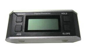 New High precision Large Screen Digital Magnetic Protractor Angle Inclinometer