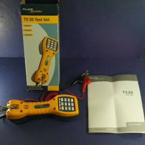 Brand New Fluke Ts30 Test Set Ob