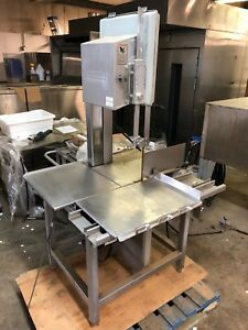 Hobart 5801 Commercial Meat Bone Lamb Beef Cutter Saw 3 Hp 200 230v Works Great