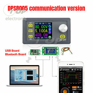 Dps8005 Programmable Constant Voltage Current Step down Power Supply 80v 5a