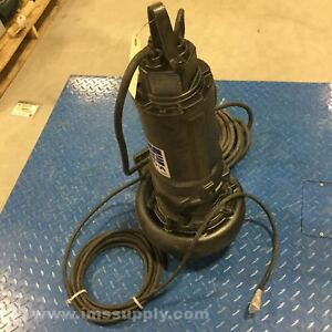 Ebara 80dlfu63 74 Ebrh Pm Submersible Sewage Pump 3 phase Usip