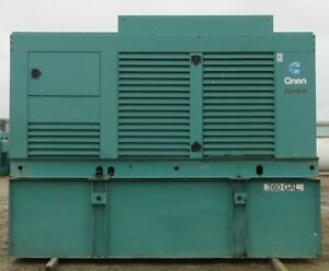 400 Kw Cummins Onan Diesel Generator Genset Load Bank Tested