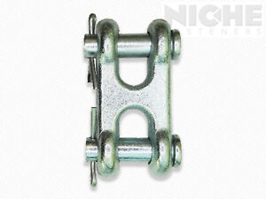Clevis Double Link 3 8 1045 Cs Zp Chain Size 3 8 10 Pieces