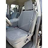 2013 2018 Dodge Ram 1500 Front 40 20 40 Premium Exact Front Seat Covers Gray