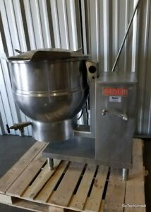 Groen Electric Steam Jacketed Tilting Kettle Commercial Cooking Kettle Dee 4 40