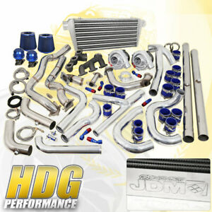 1994 1997 Ford Mustang V6 Twin Turbo Charger Fmic Upgrade Blue Set Full Kit