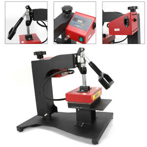 Coated Clamshell Logo Heat Press Transfer Machine For Ball point Pen Sublimation
