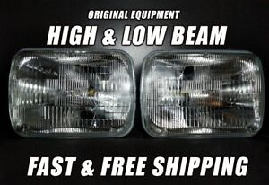 Oe Front Halogen Headlight Bulb For Gmc Sonoma 1991 1993 Low High Beam X2