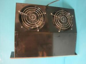 Comair Rotron Mb5100 Type 100 Cabinet Blower Dual Fan Assembly Used Blower Works
