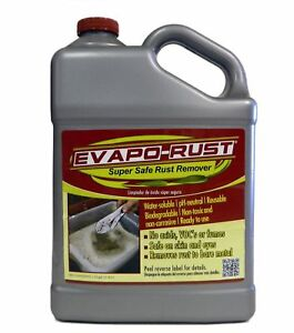 Evapo Rust Er012 The Original Super Safe Rust Remover 1 Gallon New