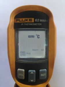 Fluke 62 Max Plus Ir Dual Laser Infrared Thermometer F62 Max With Case