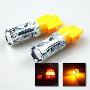 30w Osram Chip Bright Amber Smd 3157 Dual Filaments Led Light Bulbs Tail signal