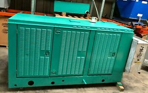 1998 80 Kw Cummins Generator Natural Gas Enclosed 850 Hours Load Bank