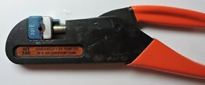 Thomas Betts Hand Crimping Tool Wt740 Die 201e