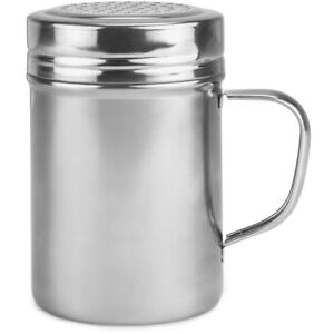 Metal Dredge Shaker Spice Dispenser 10oz With Stainless Steel Top