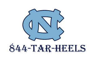 Tar heels rare Vanity Toll Free Number Precise And Ready To Earn No domain 800