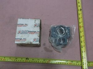 Ami Bearings Ucnst205 16 Take up Ball Bearing Unit Side Mount 1 0000 In Id