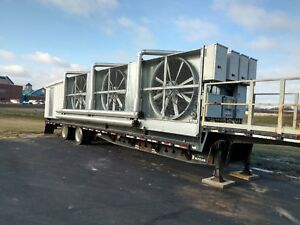 3 130 Ton Bac Cooling Towers Trailer Unit