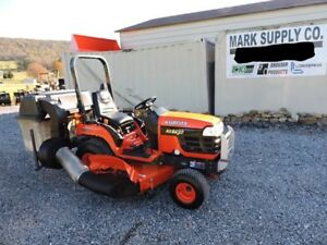 2005 Kubota Bx2230 Sub Compact Tractor Belly Mower Bagger 4x4 Diesel 3 Point