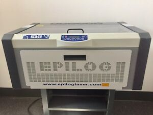 Epilog Laser Engraving System 45w Model 8000 With Stand Barely Used