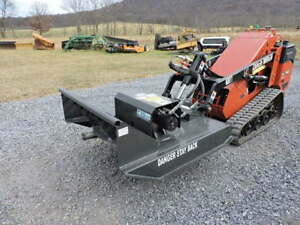 Cid Xtreme 44 Brush Hog Cutter Mower For Mini Skid Steer Loader Toro Dingo