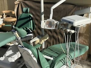 Dentalez Axcs Dental Patient Exam Chair W Delivery System