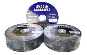 50 Pc 6 X 1 16 X 7 8 Cut Off Wheels Stainless Steel Metal Cutting Discs