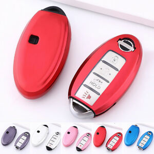 Finer Electro Optic Car Smart Key Shell Case Fob Cover For Nissan Infiniti Color