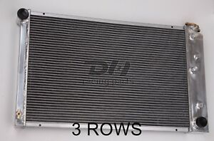 Fit Chevy Camaro Many Gm Cars Truck 3row 26 Wide Core Aluminum Radiator