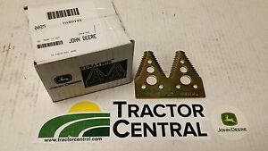 New John Deere Dura twin Coarse Sickle Section sold In Box Of 25 H163131