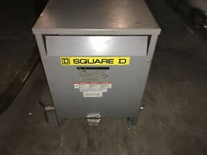 Square D Transformer ee15t1828h 15kva 575hv 480lv Free Shipping To Lower 48