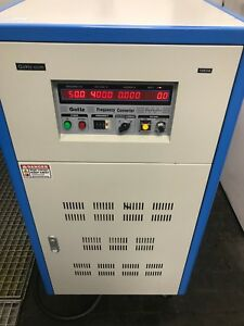 Gohz 3 Phase Frequency Converter 10kva 240v In 0 520v Out With 10 400hz