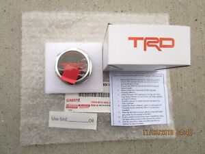 Fits 07 19 Toyota Tundra Trd Performance Oil Filler Cap Usa Version Brand New