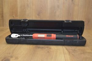 Snap on Atech2f100ob Digital Torque Wrench Flex Head 3 8 Drive 5 100 Ft Lb