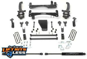 Fabtech K6003m 6 Basic Lift Kit W Rear Stealth Shock For 06 18 Nissan Frontier