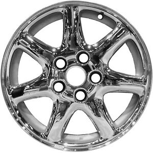 Chrome Plated 7 Spoke 16x7 New Wheel For 1998 2004 Cadillac Seville