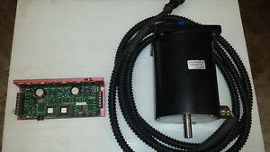 Microkinetics Nema 42 Dual Shaft Stepper Motor W Dm8010 Stepper Drive