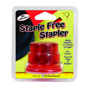 The Pencil Grip Staple Free Stapler Carded 6 Ea 133