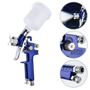 1 Mini Hvlp Air Paint Spray Gun Sprayer Auto Car Detail Touch Up Gravity Repair