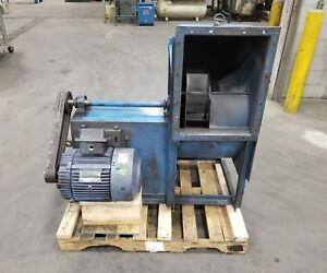 Barry Industrial Blower Fan Ventilation 15 Hp shipping Available 3168sr