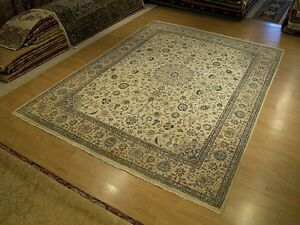 Fine Quality 9 X 12 Handmade Persian Oriental Wool Rug Very Sturdy High Kpsi
