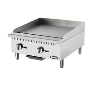 Atosa Atmg 24 Cookrite 24 Countertop Manual Gas Griddle